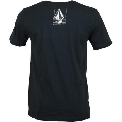 Volcom T-Shirt Chopped Edge schwarz