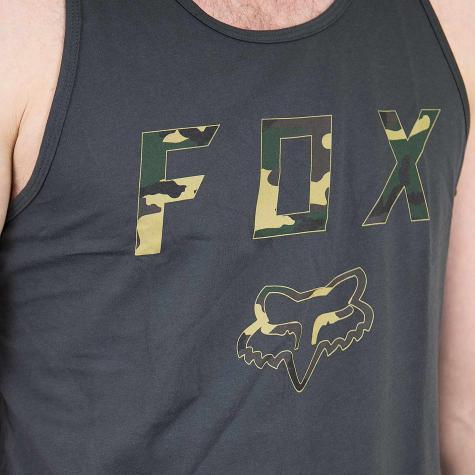 Fox Tanktop Cyanide Squad schwarz vintage