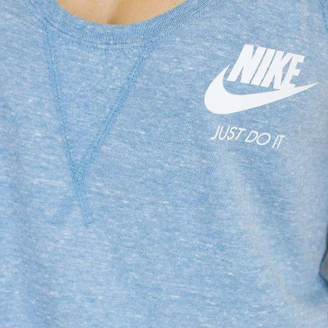 Nike Damen Tanktop Gym Vintage cerulean