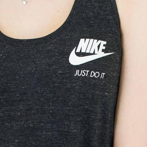 Nike Damen-Tanktop Gym Vintage schwarz/weiß
