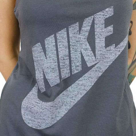 Nike Damen Tanktop Wash dunkelgrau