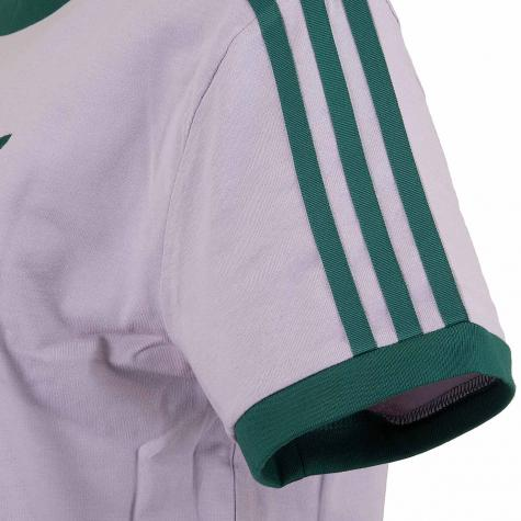 Adidas Originals Damen T-Shirt 3-Stripes lila