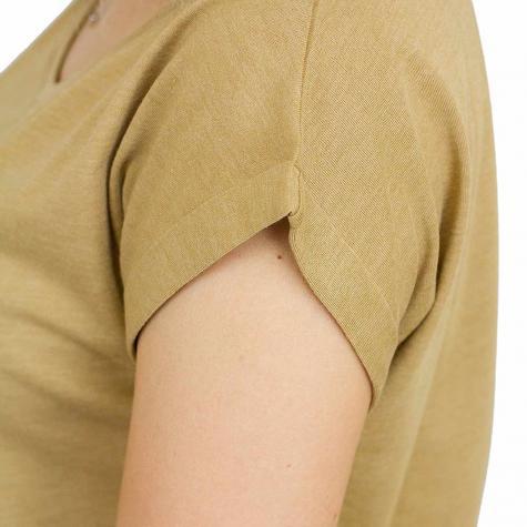 Iriedaily Damen T-Shirt It Hasi cognac meliert