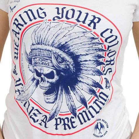 Yakuza Premium Damen T-Shirt 2135 weiß