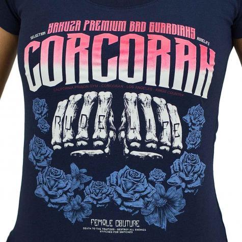 Yakuza Premium Damen T-Shirt 2233 dunkelblau