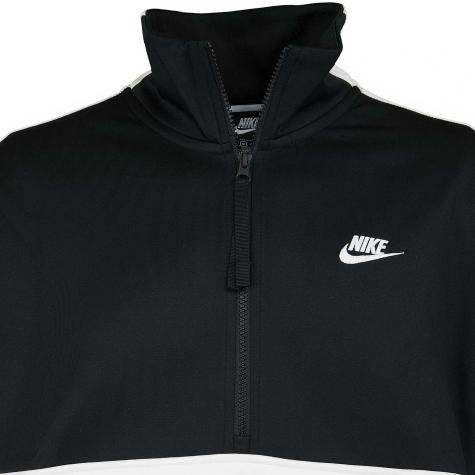 Nike Trainingsjacke Air Half Zip schwarz/weiß