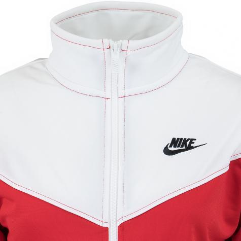 Nike Damen Trainingsjacke Heritage rot/weiß