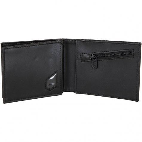 Volcom Geldbörse Radiator 3F schwarz