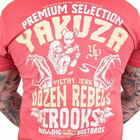 Yakuza Premium T-Shirt Vintage 204 rot
