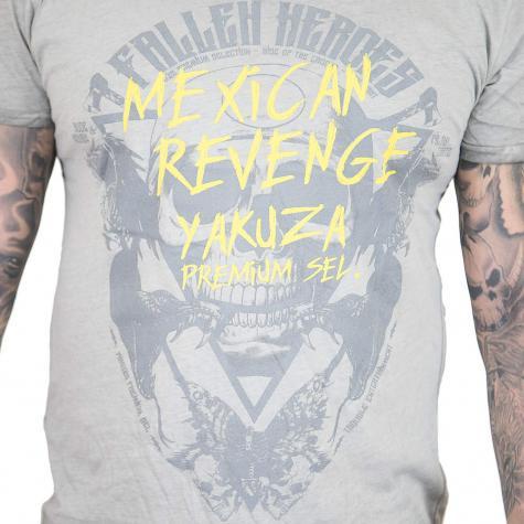 Yakuza Premium T-Shirt Vintage 307 hellgrau