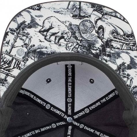 Element Snapback Cap State schwarz heather