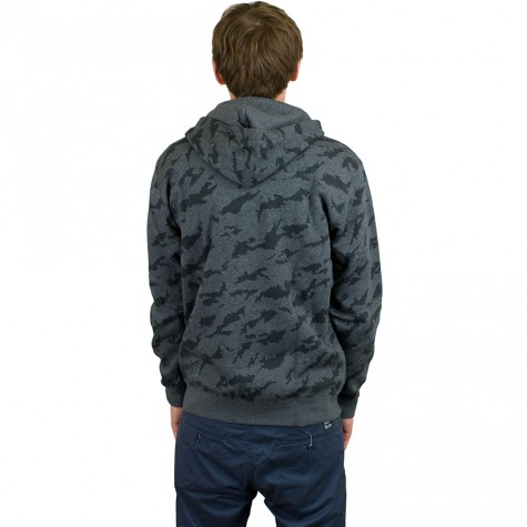 Adidas Originals Zip-Hoody Training Full Zip dark grau