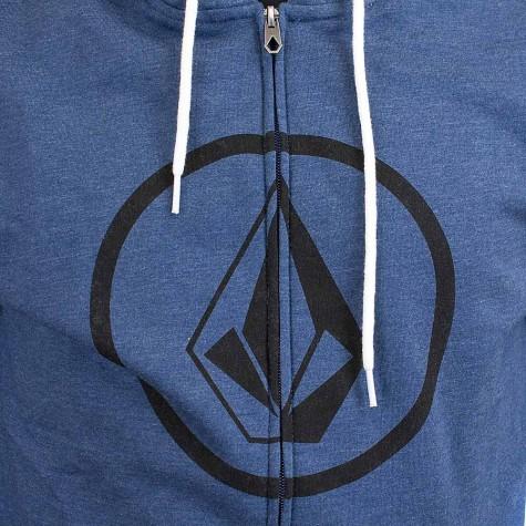 Volcom Zip-Hoody Stone Zip blau