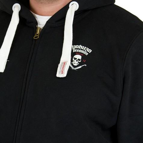 Yakuza Premium Zip-Hoodie 2226 schwarz