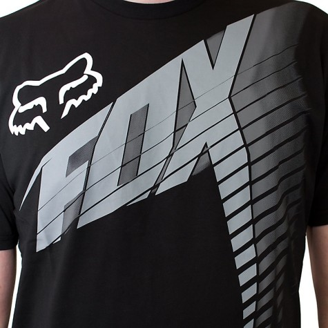 Fox Head T-Shirt Horizon black