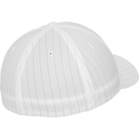 Uprock Flexfit Cap Pinstripe weiß
