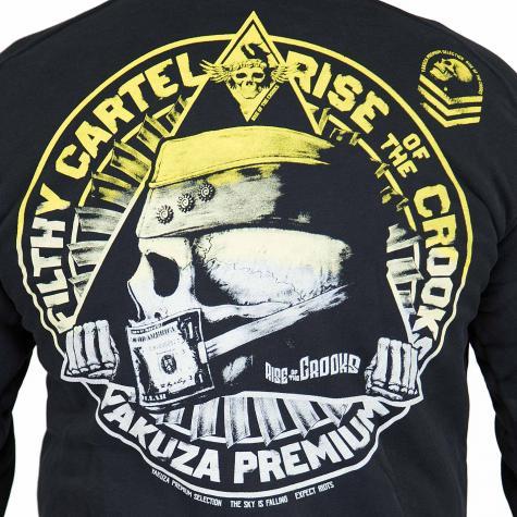 Yakuza Premium Zip-Hoody 2527 schwarz