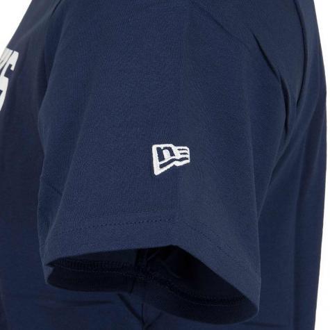 New Era T-Shirt NFL Large Graphic Seahawks dunkelblau