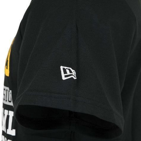 New Era T-Shirt NFL Large Graphic Steelers schwarz
