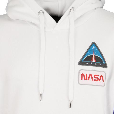Alpha Industries Hoody Space Camp weiß