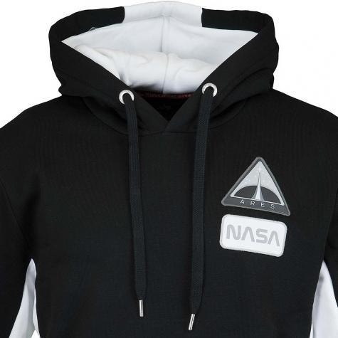 Alpha Industries Hoody Space Camp schwarz