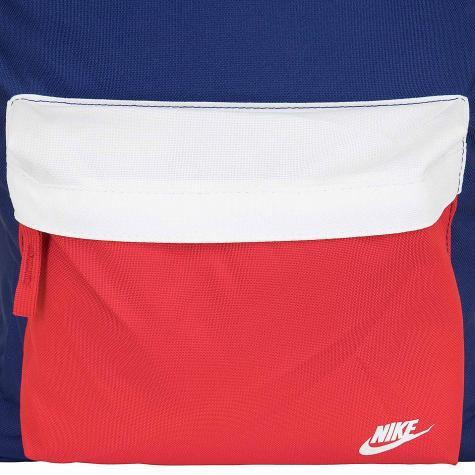 Nike Rucksack Heritage 2.0 Graphic blau/weiß/rot