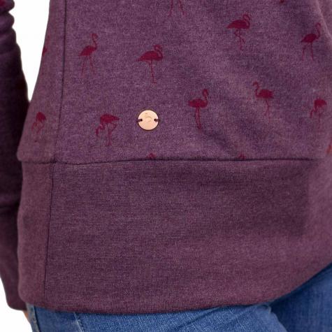 Mazine Damen Hoody Leonora berry/pink