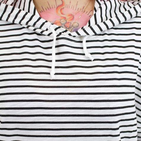 Mazine Damen-Hoody Mareeba schwarz/weiß