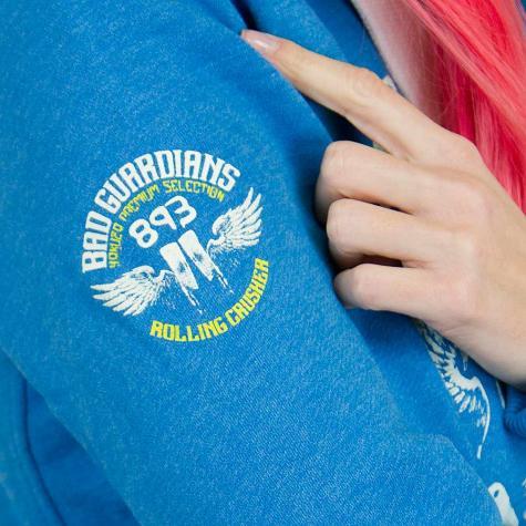 Yakuza Premium Damen-Hoodie 2244 blau