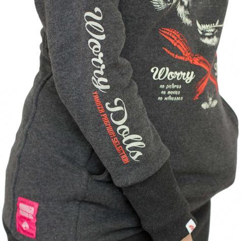Yakuza Premium Damen Hoody 2347 schwarz
