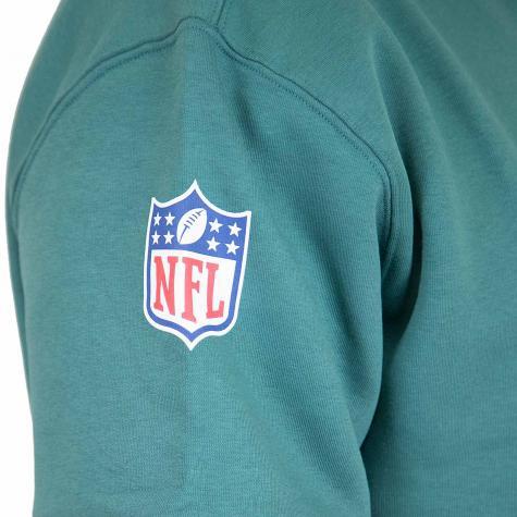 New Era Hoody Colour Block Philadelphia Eagles grün