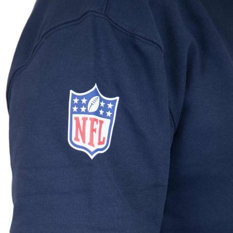 New Era Hoody Colour Block Seattle Seahawks dunkelblau