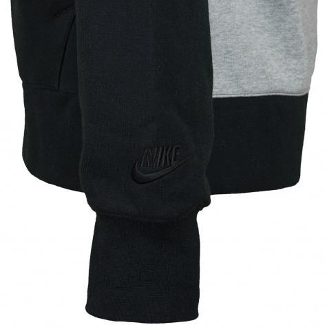 Nike Zip-Hoody HBR BB ST grau/schwarz