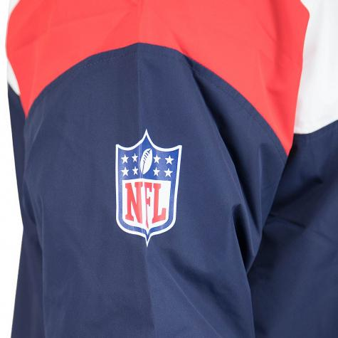 New Era Jumper Colour Block New England Patriots dunkelblau/weiß