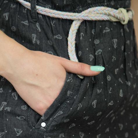 Ragwear Kleid Geena grau