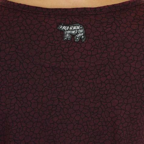 Khujo Damen Longshirt Ariana weinrot