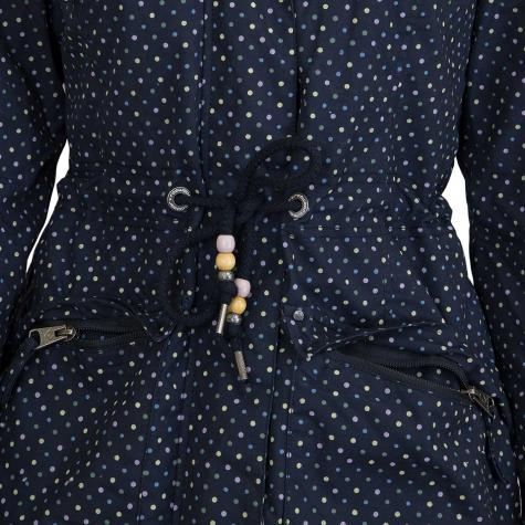 Ragwear Damen-Jacke Ashani dunkelblau