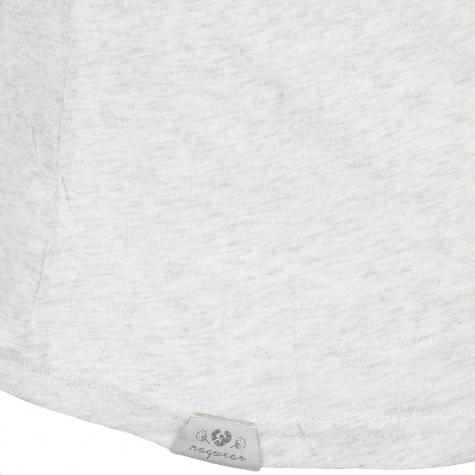 Ragwear Damen T-Shirt Florah Organic weiß