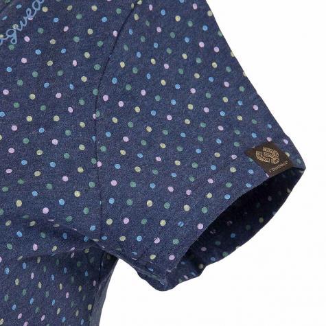Ragwear Damen T-Shirt  Mint Dots indigo