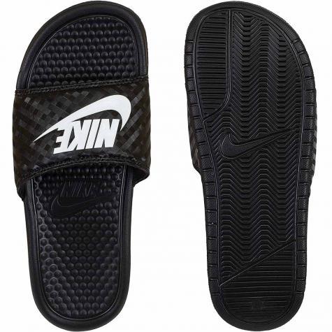 Nike Damen Badelatschen Benassi JDI schwarz/weiß