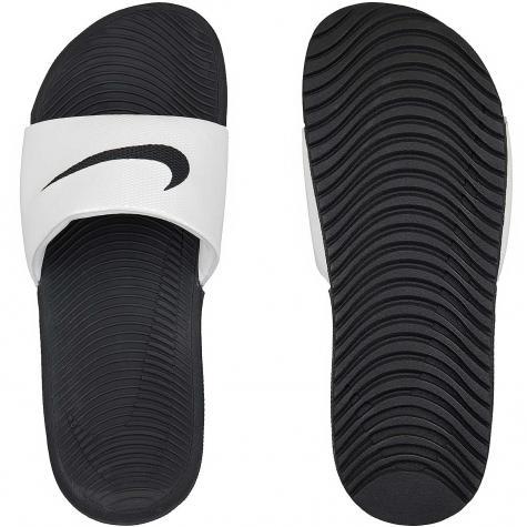Nike Damen Badelatschen Kawa Slide schwarz/weiß
