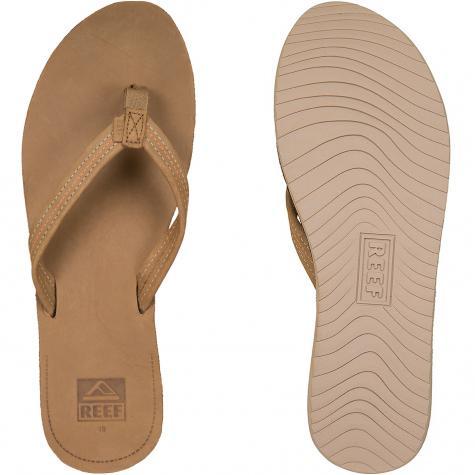 Reef Damen Flip Flop Voyage Lite Leather braun