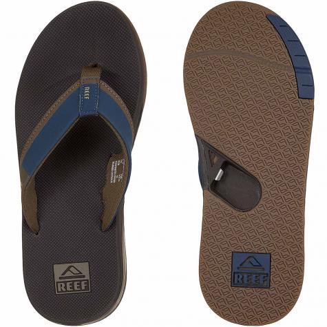 Reef Flip-Flop Fanning Low dunkelblau/braun