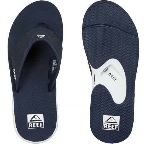 Reef Flip-Flop Fanning dunkelblau/weiß