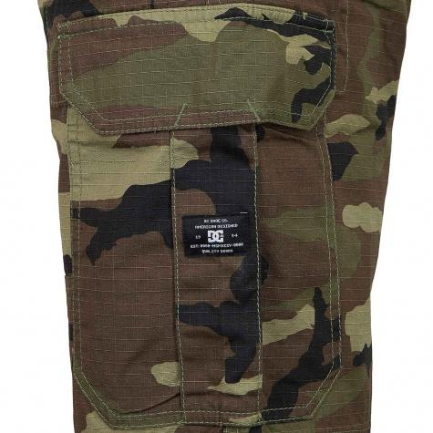 DC Shoes Shorts Ripstop Cargo 21 camouflage