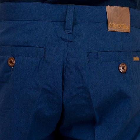 Iriedaily Golfer Chambray Shorts steel blue