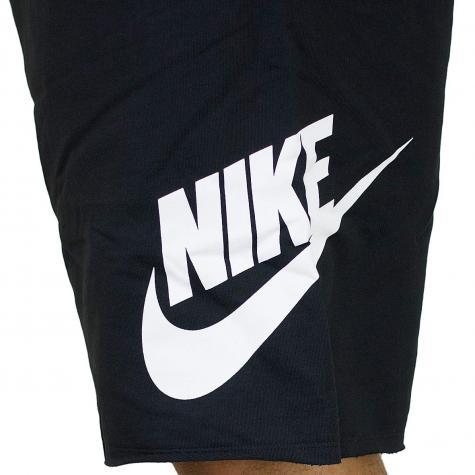 Nike Shorts French Terry GX 1 schwarz/weiß