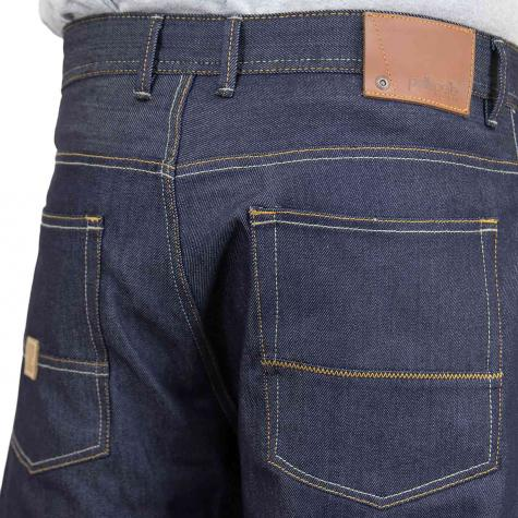 Pelle Pelle Shorts Buster raw indigo