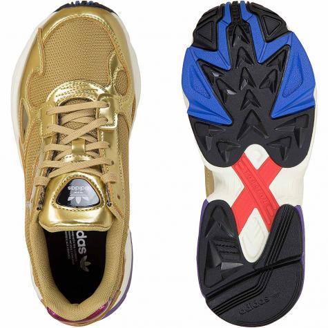 Adidas Originals Damen Sneaker Falcon gold/weiß