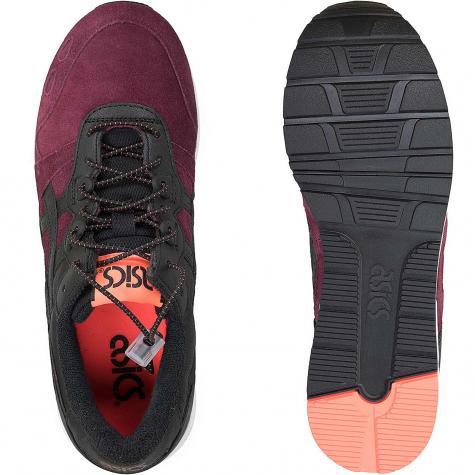 Asics Sneaker Gel-Lyte dunkelrot/schwarz